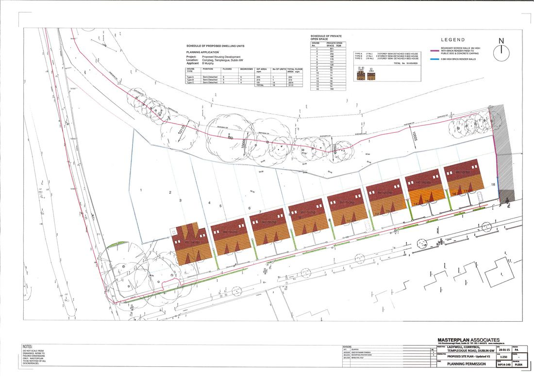 Site plan- Ladywell